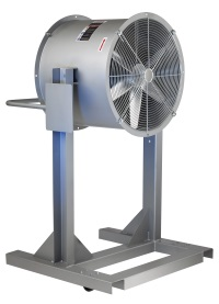 Explosion Proof Fan >> Industrial Floor Fans: Personnel Coolers: Cincinnati Fan